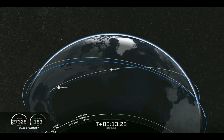 Elon Musk ha usato la connessione di Starlink per lanciare un tweet