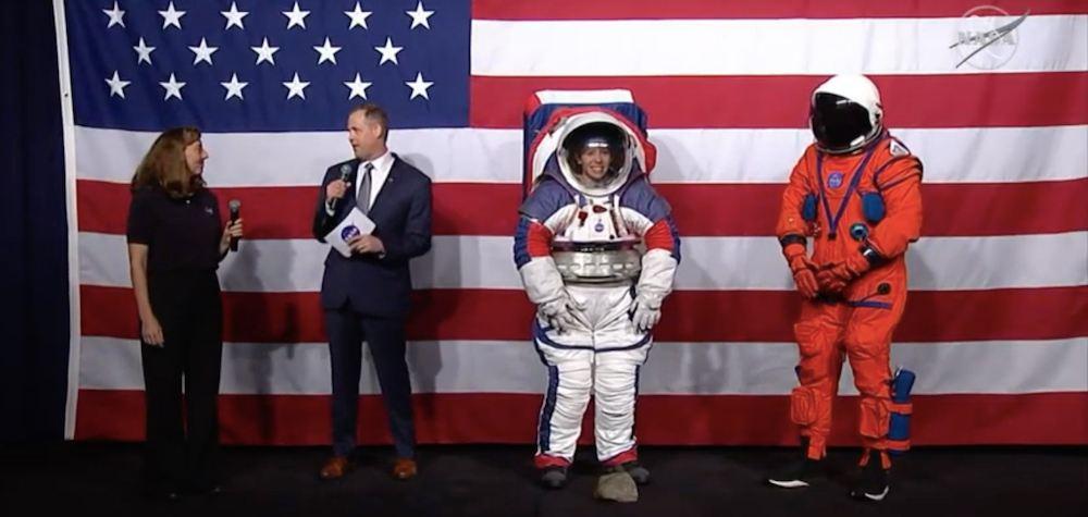 La NASA ha presentato le nuove tute spaziali che andranno sulla Luna
