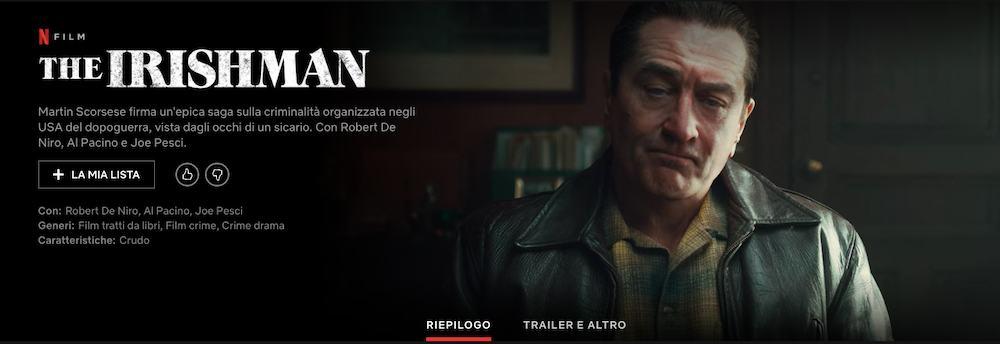 Scorsese presenta The Irishman: Senza Netflix non lo avremmo fatto