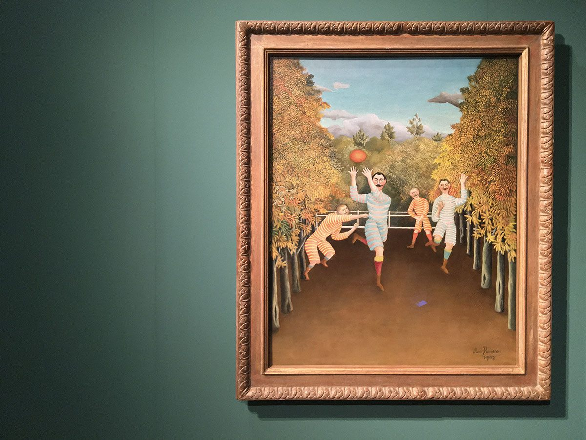 Mostra Palazzo Reale Collezione Thannhauser Guggenheim - Rousseau