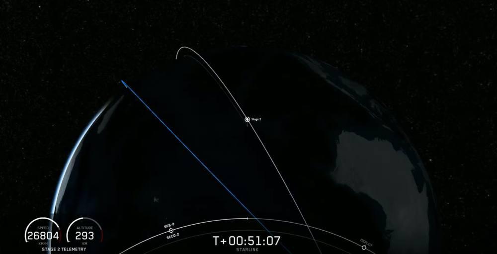 Elon Musk manda in orbita altri 60 satelliti della costellazione Starlink