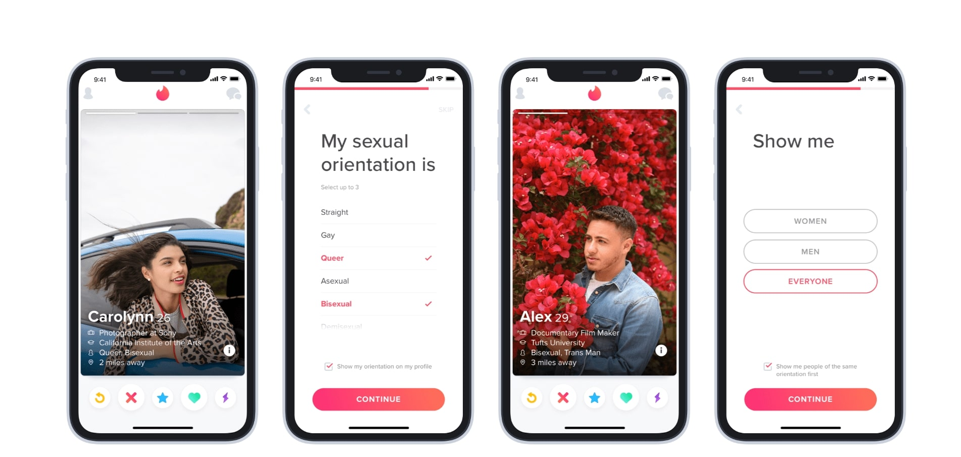Dating app come immagini