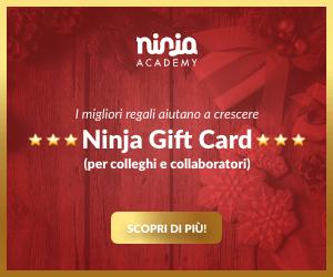 Gift Card Natale 2019 Ninja Academy Buono Regalo