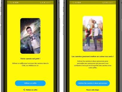 Snapchat testa Cameo: fatti un selfie, scegli un video, mettici la faccia