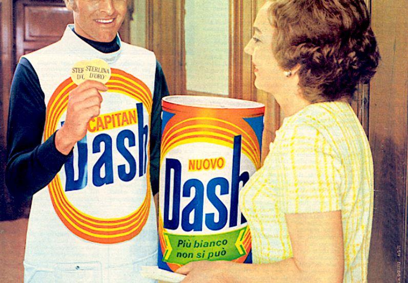Quanto è importante il package di un prodotto e il caso del fustino cilindrico di Dash