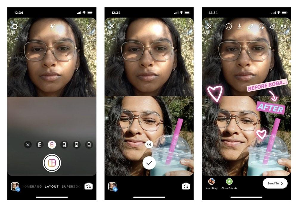 Breve guida a Instagram Layout, la nuova funzione per i collage di foto