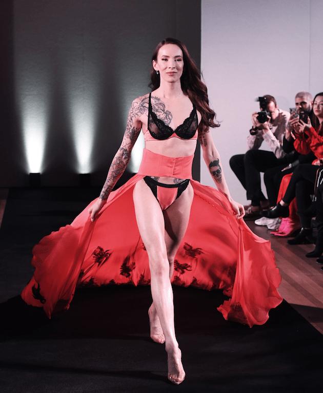 lingerie transgender- ninja marketing