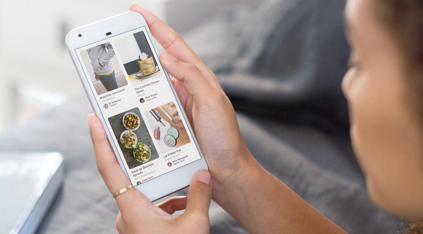 Il segreto di Pinterest per sorpassare Snapchat: shopping ads, ricerca visiva e video