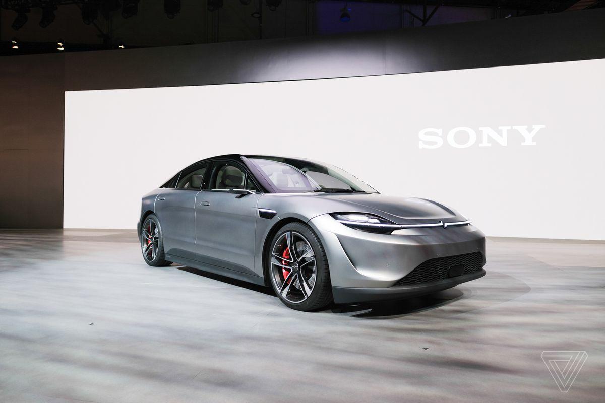 Anche Sony punta sull'elettrico e ha presentato la sua auto al CES 2020