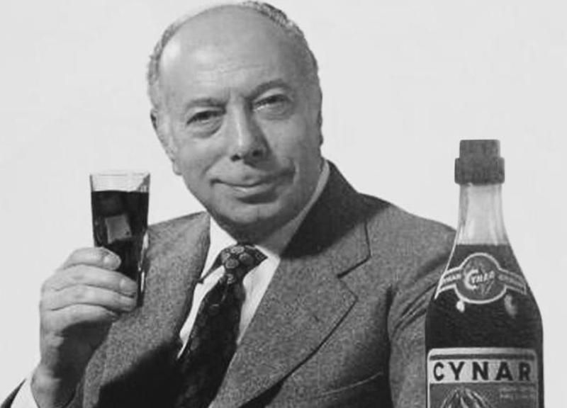 Ernesto Calindri per Cynar 1966