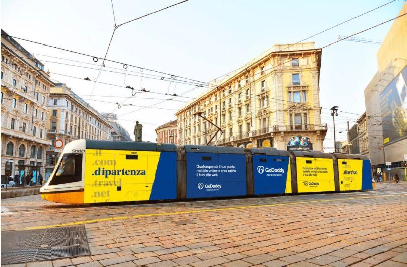 GoDaddy lancia in Italia la sua prima campagna pubblicitaria integrata
