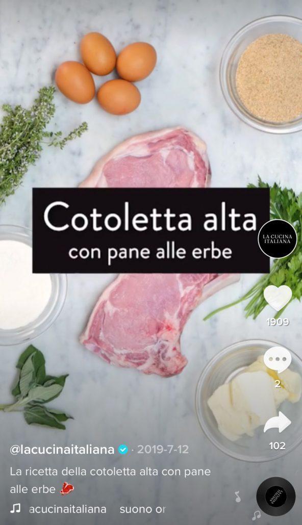 La Cucina Italiana TikTok tOK