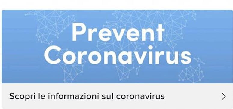 TikTok e Coronavirus: il social informa su come prevenire il contagio con una connessione con le istituzioni