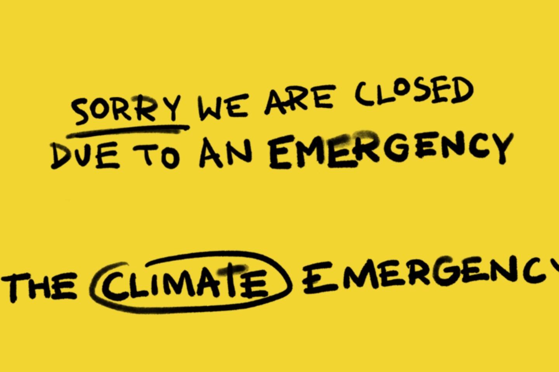 Lush pubblicità cambiamento climatico