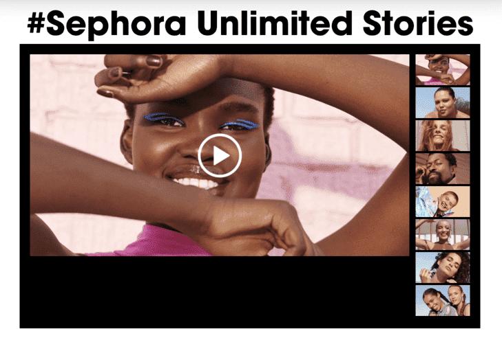Sephora unlimited stories