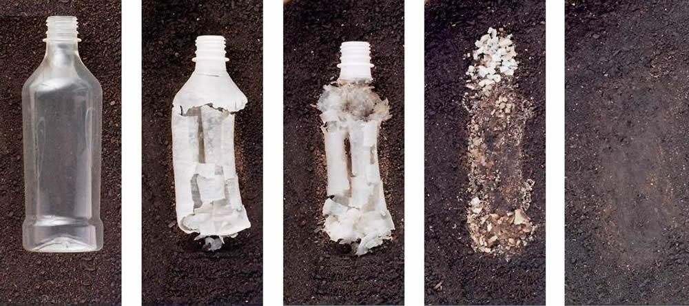 plastica biodegradabile-degradazione-bottiglia-ninja marketing