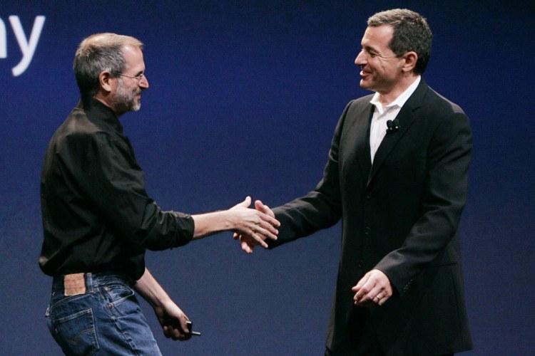 Steve Jobs, Bob Iger