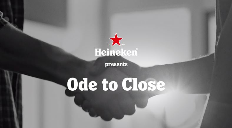 heineken ode to close