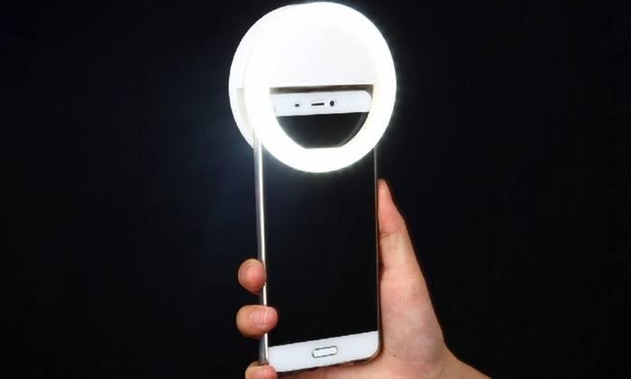 luci per smartphone tool per live streaming