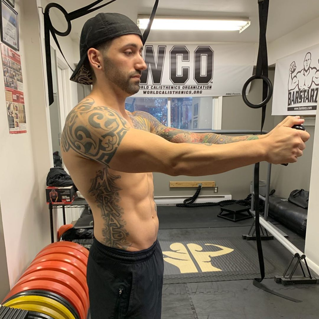 mike marchese, personal trainer instagram