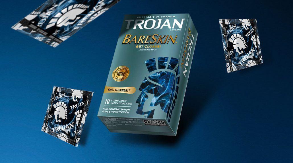 Sicurezza e piacere: Trojan presenta nuovo logo e nuovi packaging