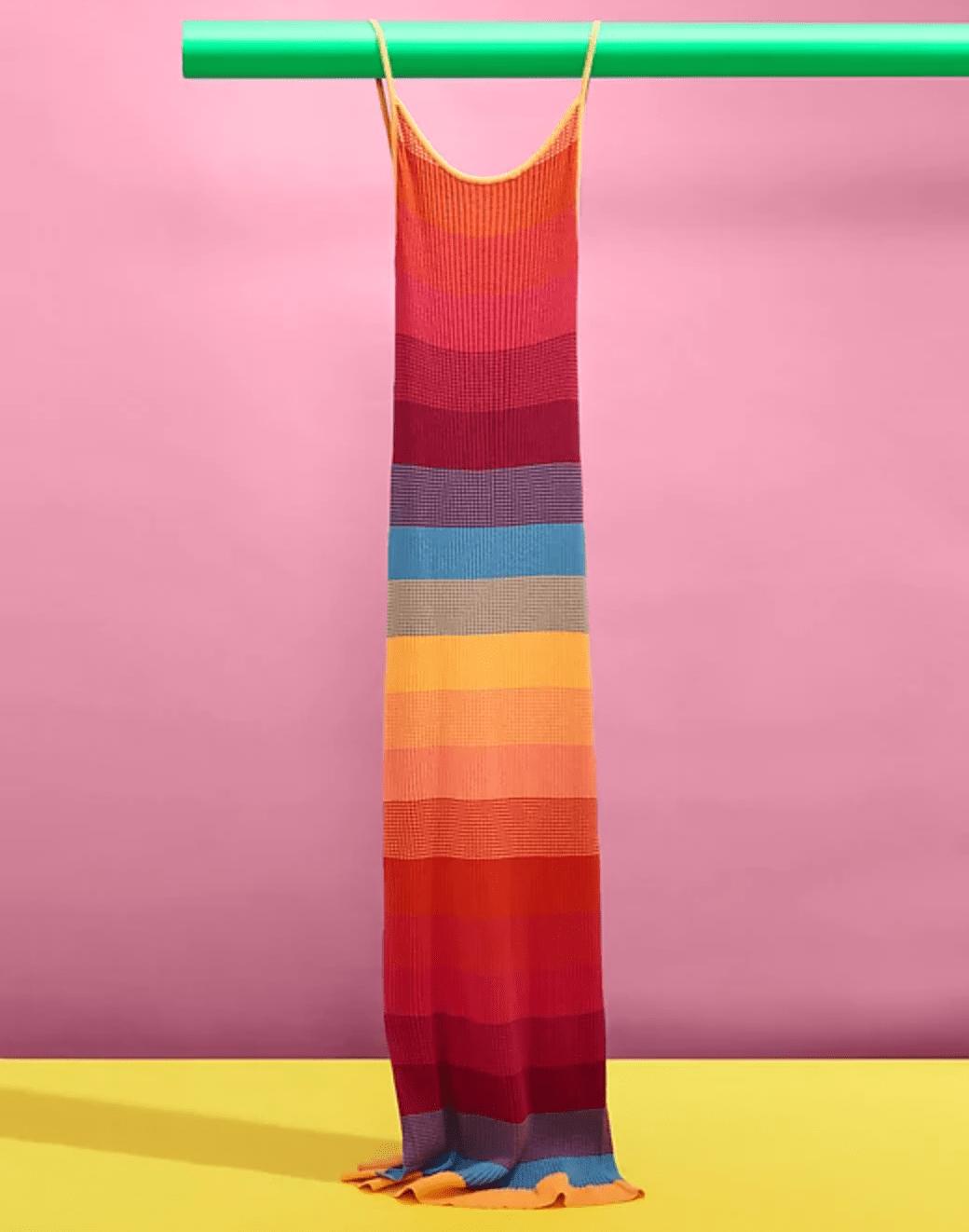Pride-Month-2020-Banana-Republic-dress
