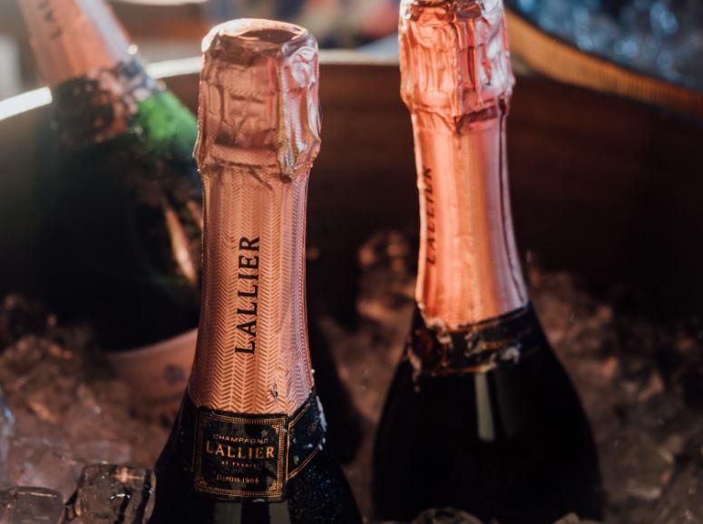 champagne lallier campari