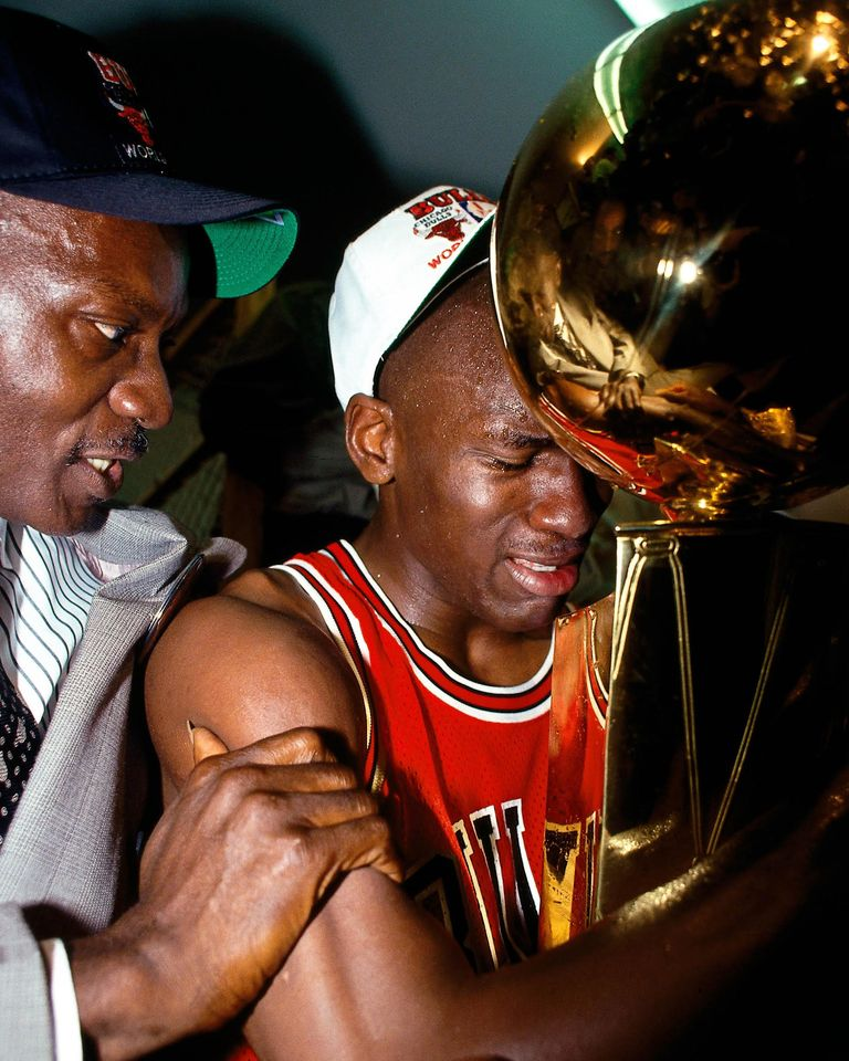 Michael Jordan title father