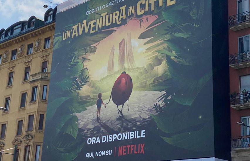 """Fase 3: la campagna di Netflix celebra lo """"spettacolo"""" della città che riapre"""