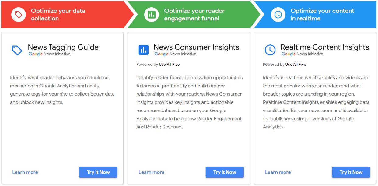Tool Google per giornalisti