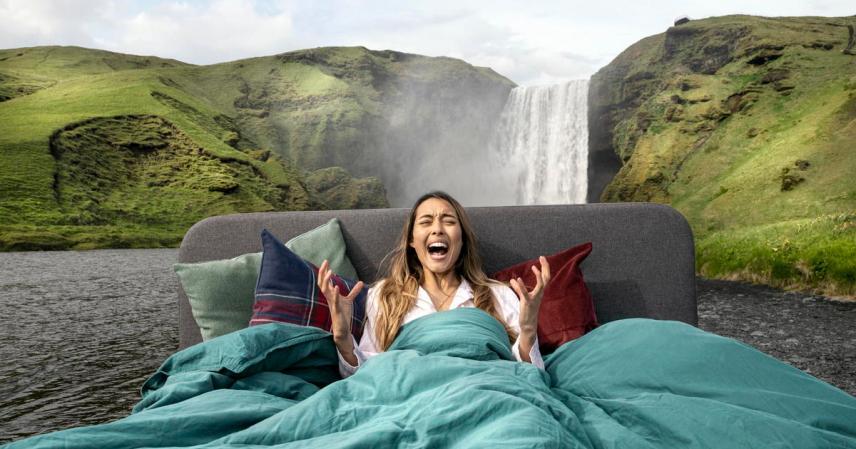 Hai voglia di urlare? Vieni in Islanda. Ecco l'ultima campagna dell'ente per il turismo