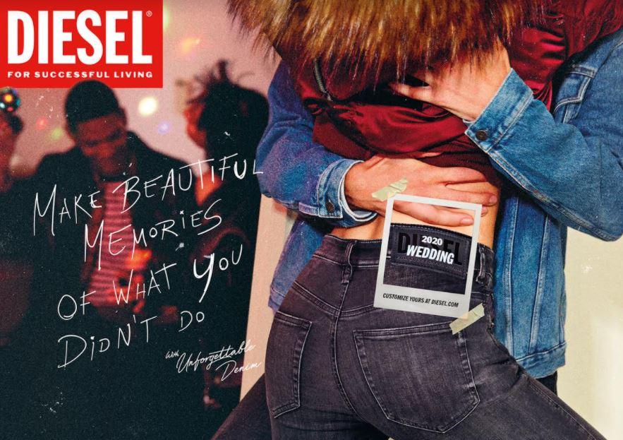 """DIESEL presenta """"Unforgettable Denim"""", la nuova campagna global firmata Publicis Italia"""