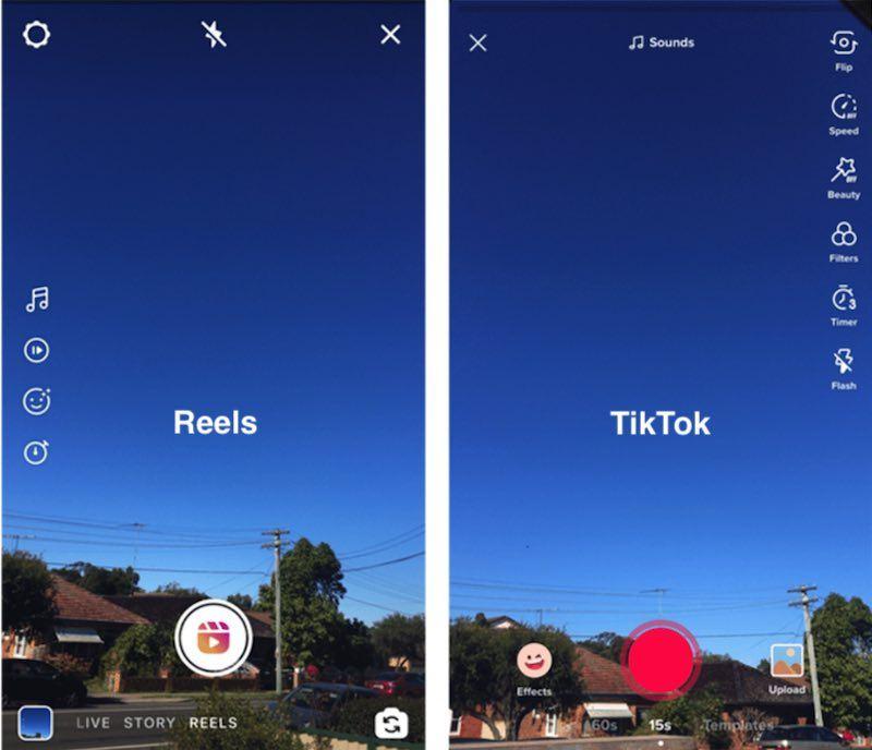 Reels vs TikTok