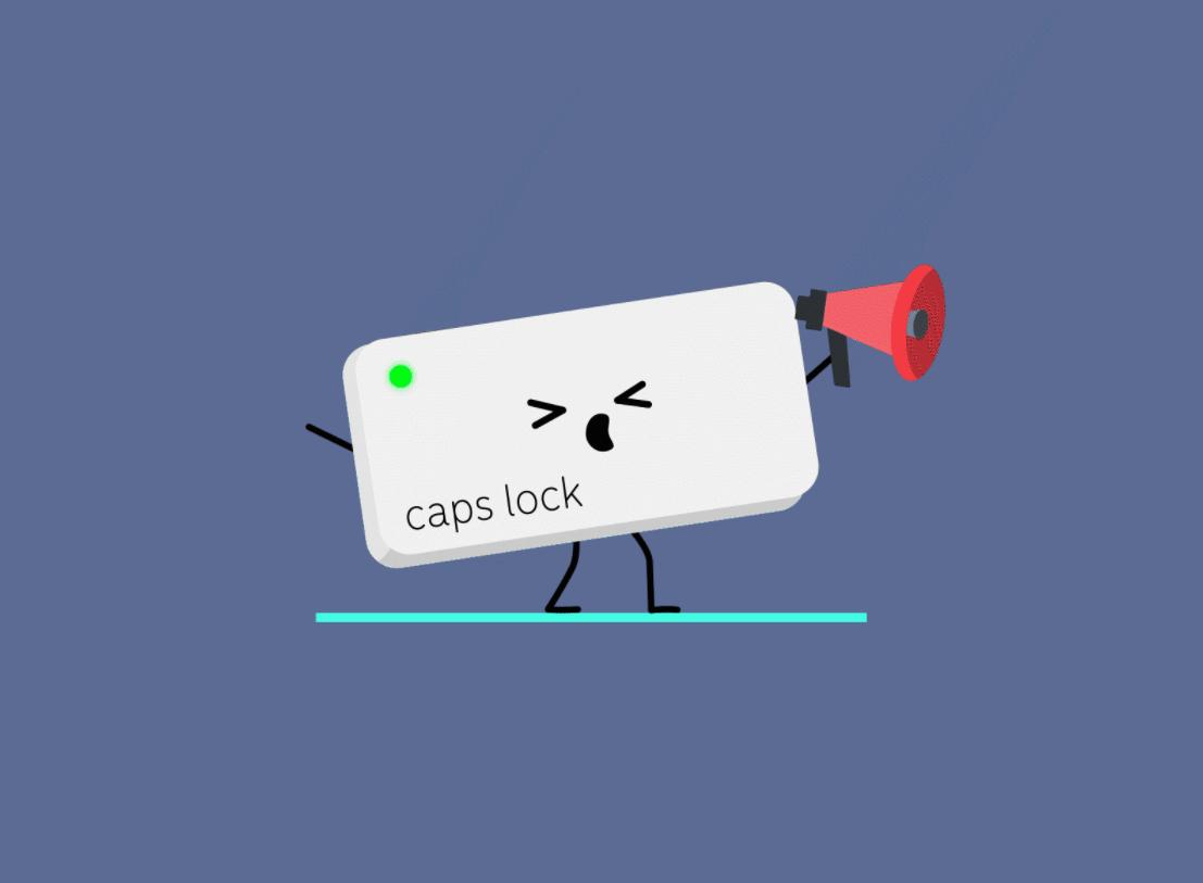 Inizia a urlare: oggi è il Caps Lock International day