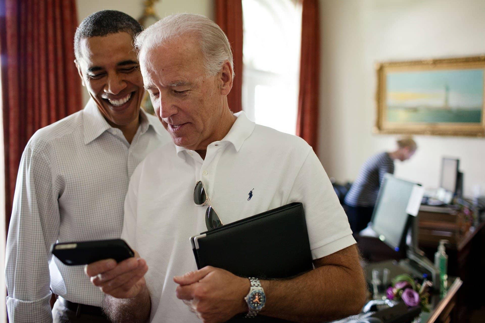 Joseph Robinette Biden e Barack Obama