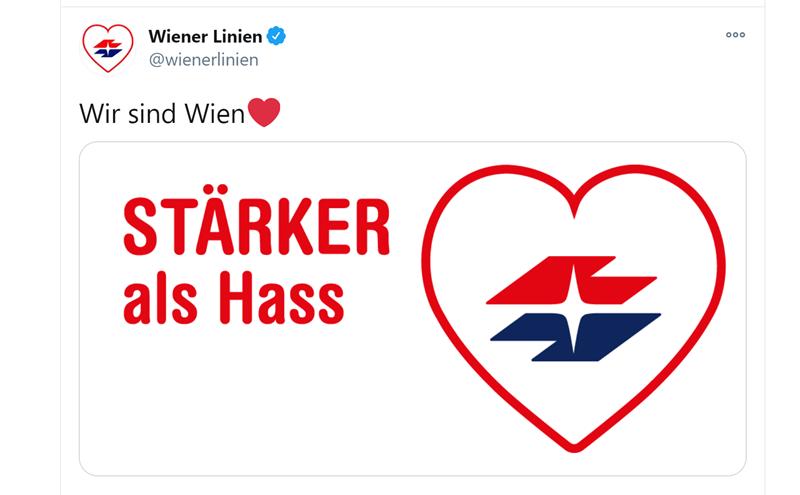 Tweet di Wiener Linien
