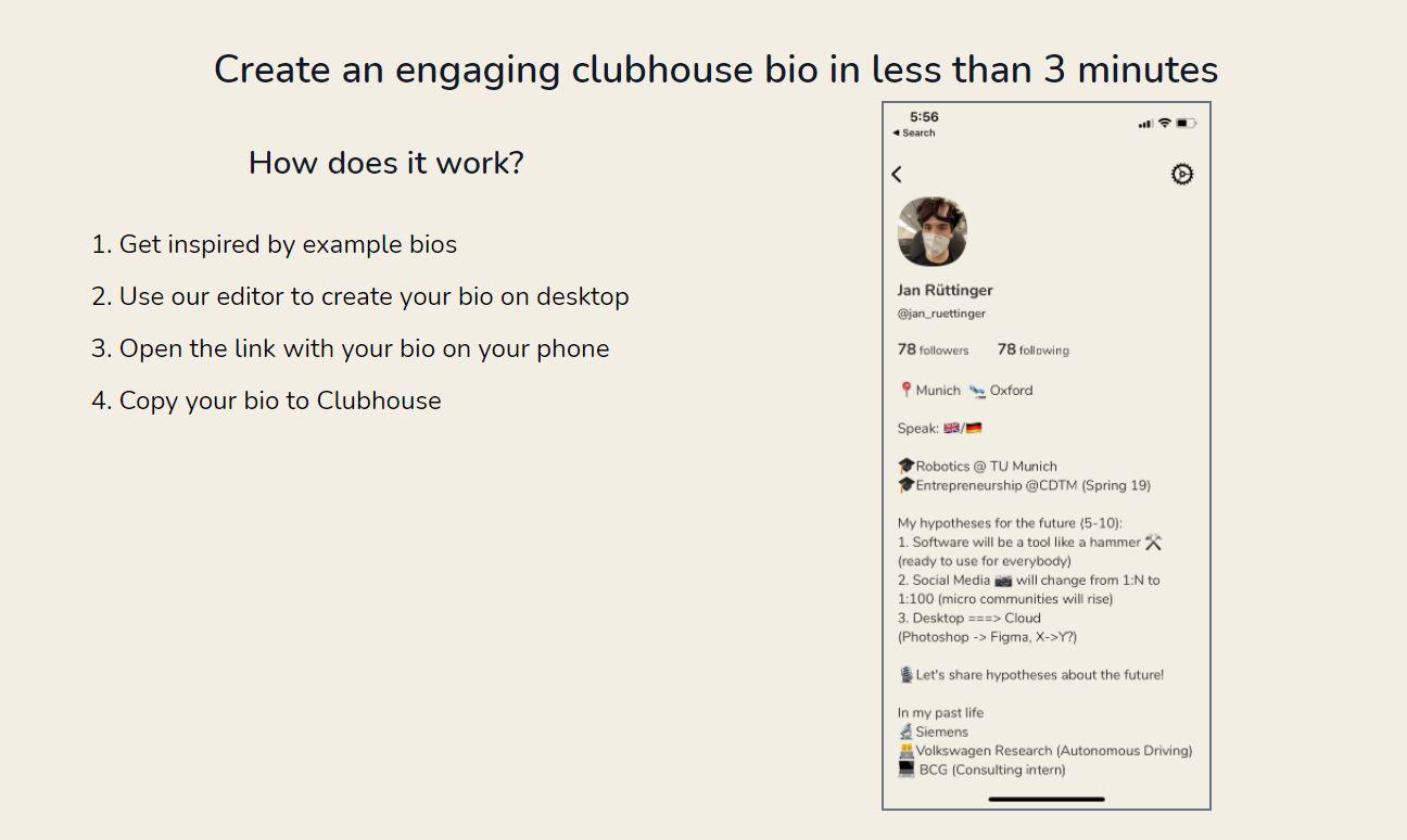 clubhouse bio xyz