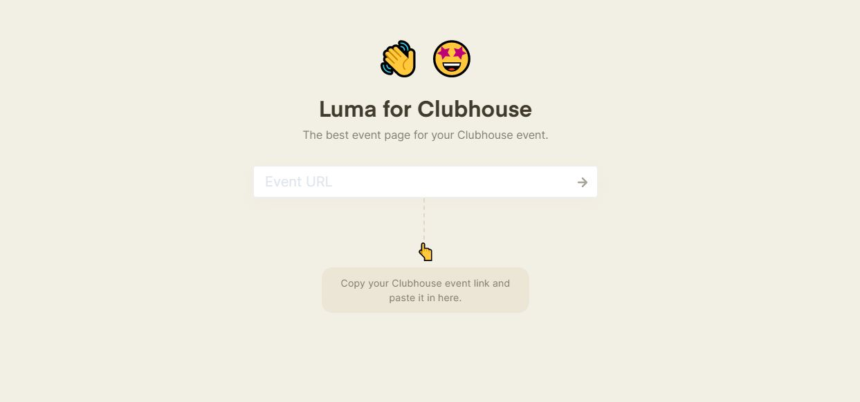 luma for clubhouse