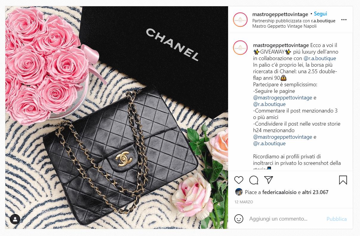 Instagram Giveaway - mastro geppetto e ra boutique