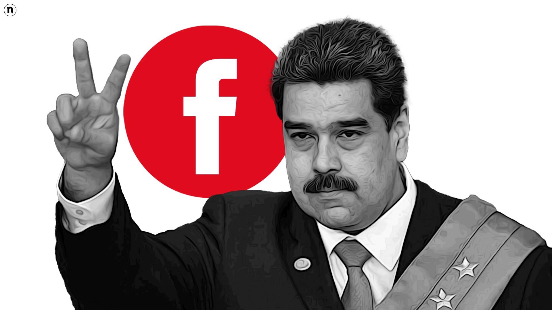 """Facebook blocca il presidente Maduro. Il Venezuela attacca: """"Totalitarismo digitale"""""""