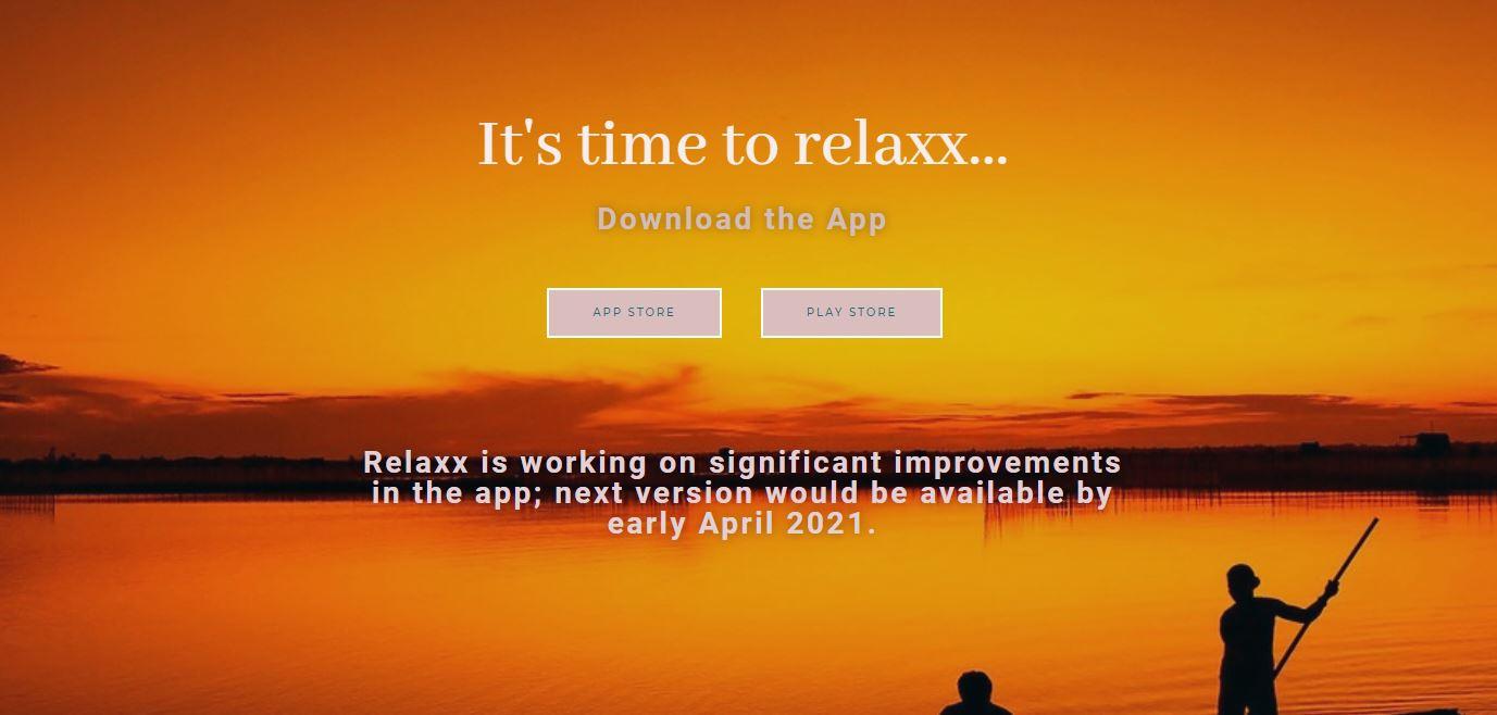 relaxx digital tool