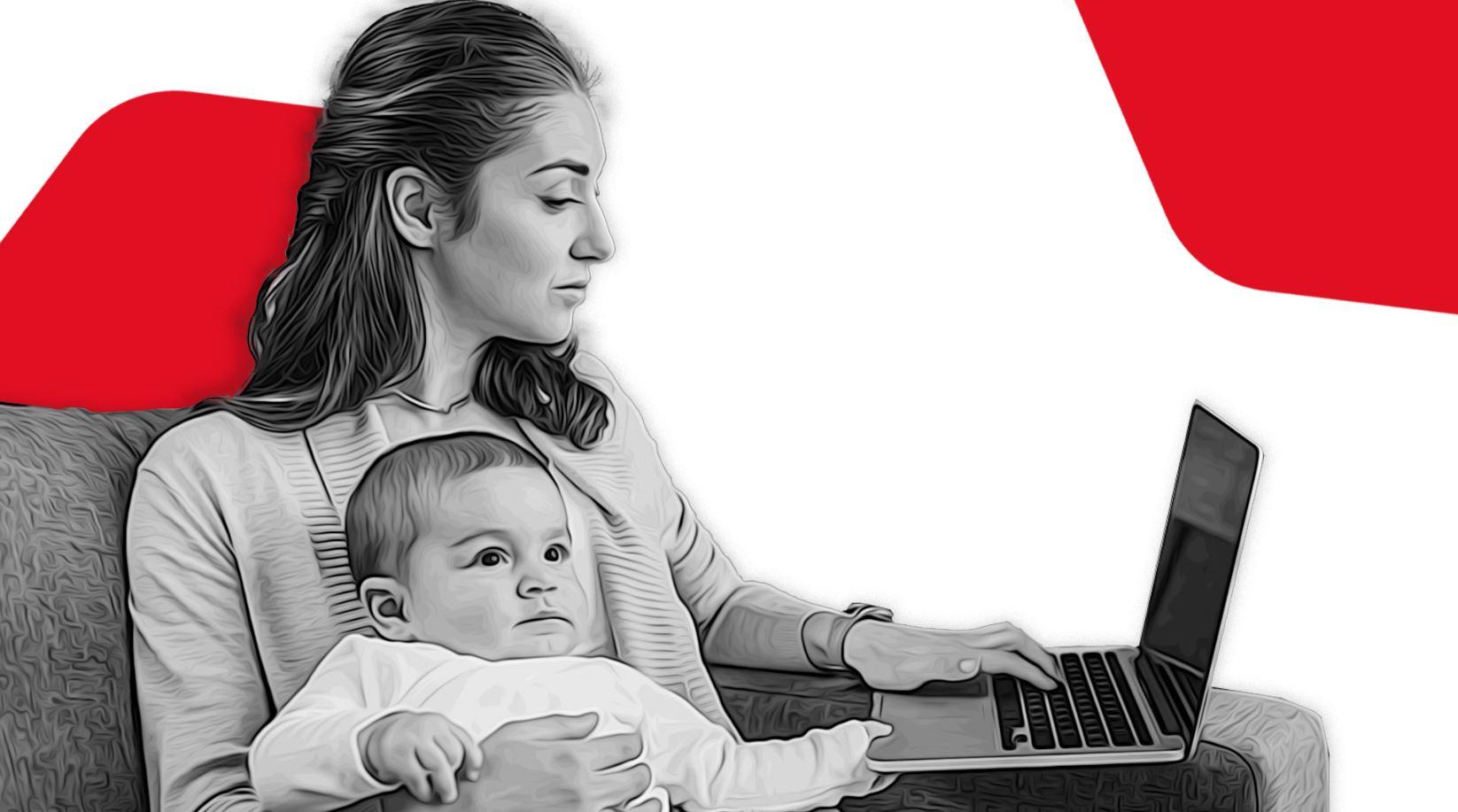 Benefici (e svantaggi) di smart working e remote working per le mamme e i papà