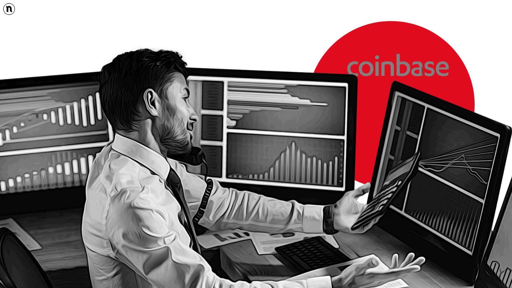 Coinbase debutta al Nasdaq con una quotazione di 86 miliardi di dollari