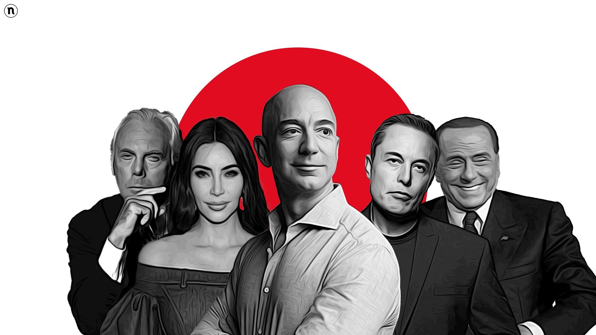 Bezos ai vertici del mondo. Ecco chi sono i più ricchi del 2021