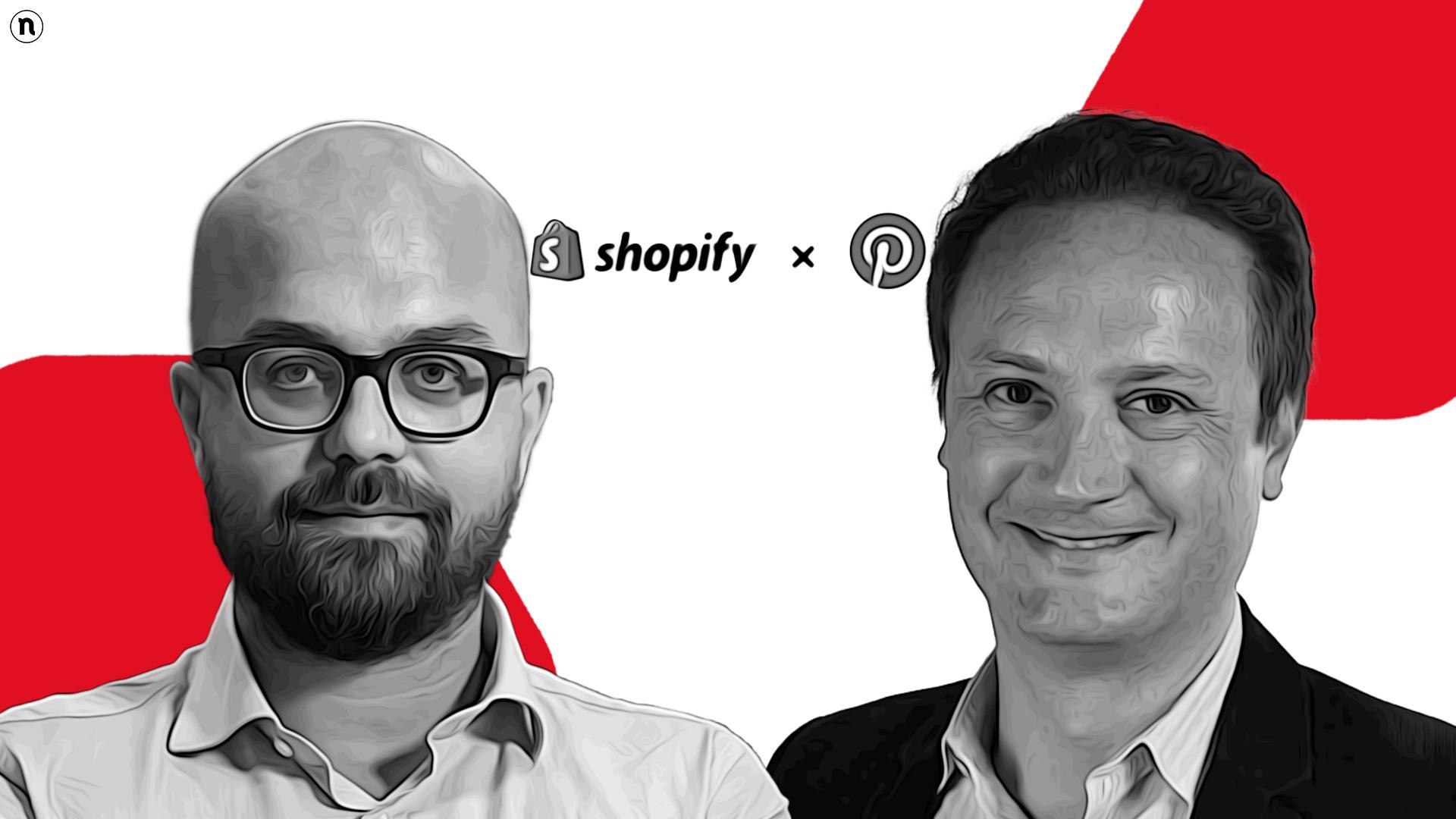 Partnership tra Pinterest e Shopify: le opportunità per le PMI d'Italia