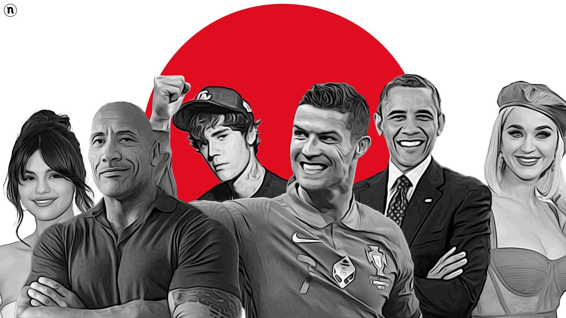 Da Cristiano Ronaldo a Barak Obama: i 50 Top influencer al mondo