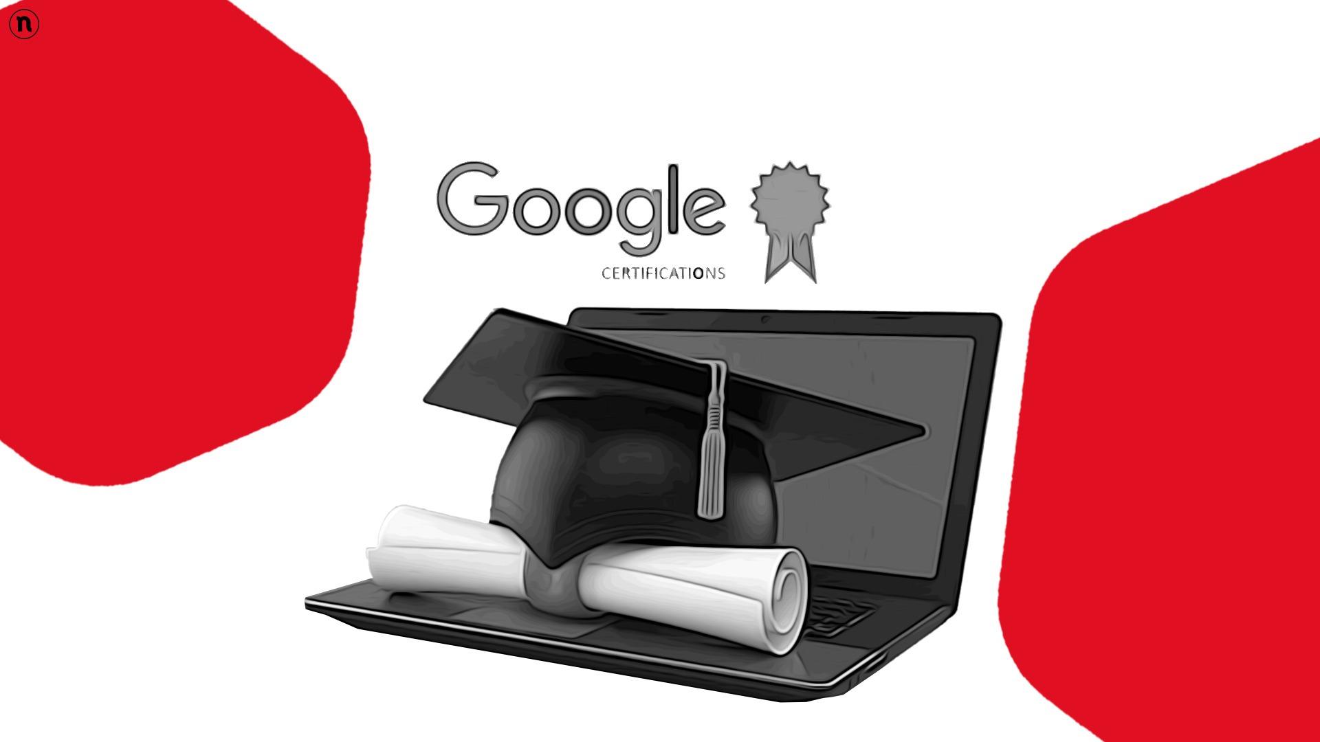 Google lancia in Italia i Career Certificates