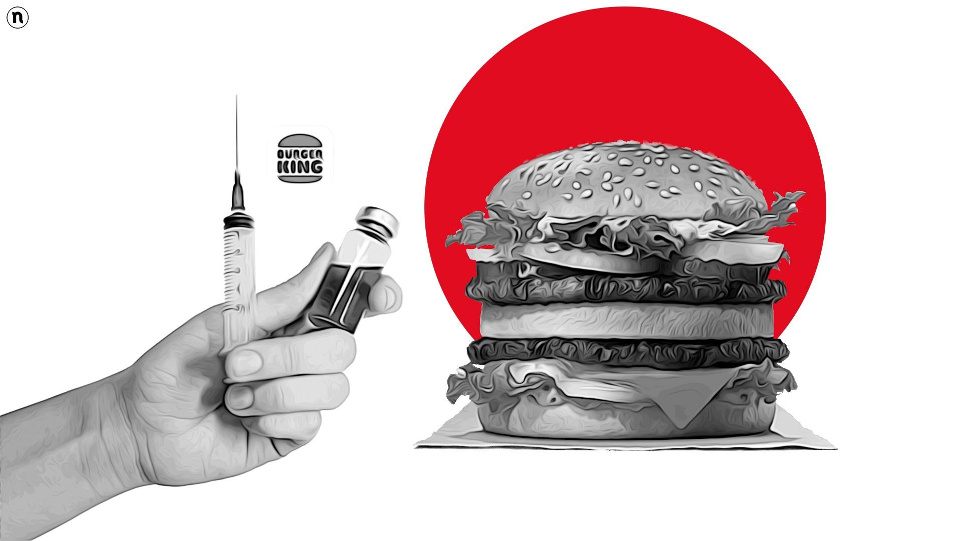 Burger King, vaccino Covid a dipendenti e 4mila ristoratori italiani