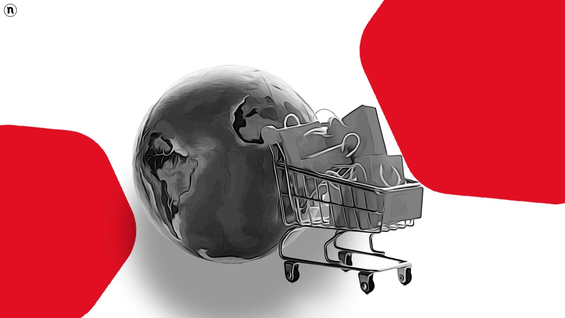 eCommerce, quota 26,7 trilioni di dollari globali. Italia ottava con il 22% del Pil