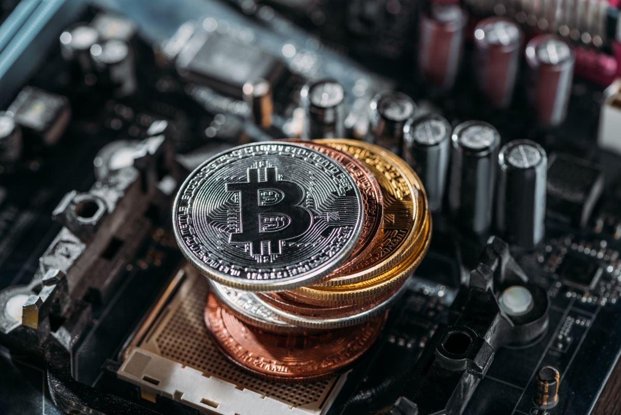 bitcoin su scheda madre